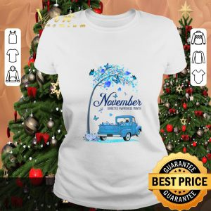 Nice November Diabetes Awareness Month shirt
