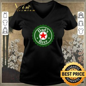 Official Dad's Beer Heineken logo parody shirt sweater