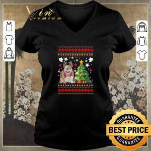 Original Christmas tree Bulldog shirt