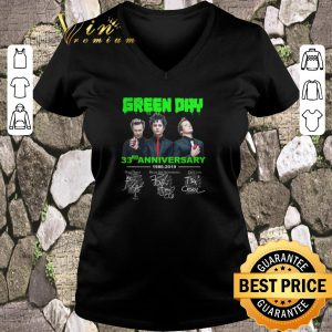 Premium Signatures Green Day 33rd anniversary 1986-2019 shirt