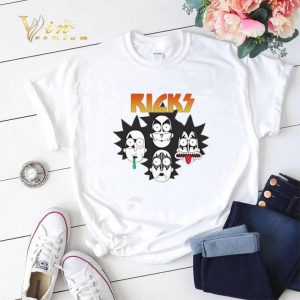 Rick And Morty Parody Kiss shirt sweater