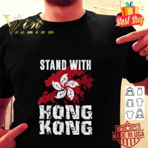 Stand With Hong Kong Free Hong Kong Flag shirt