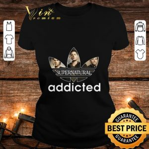 Supernatural Addicted Adidas shirt
