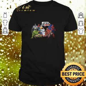 Top Jesus with Super Heroes and that's how I saved the world shirt