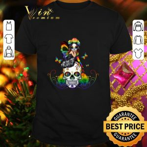 Top Sugar Skull Girl LGBT shirt