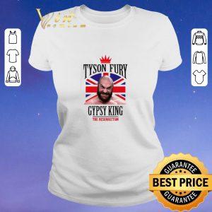 Top Tyson Fury Gypsy King Boxing The Resurrection shirt sweater 1
