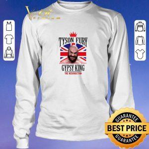Top Tyson Fury Gypsy King Boxing The Resurrection shirt sweater 2