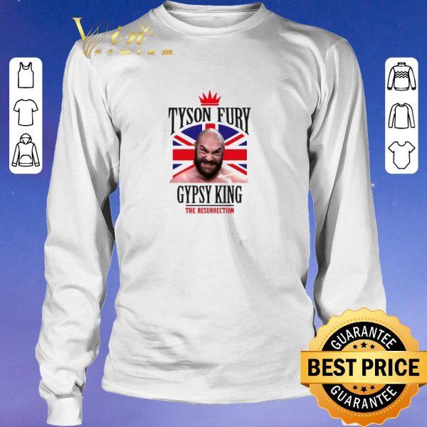 Top Tyson Fury Gypsy King Boxing The Resurrection shirt sweater