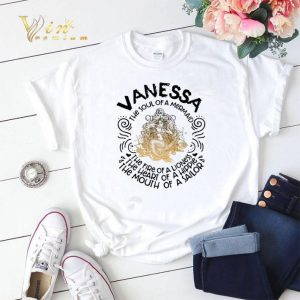 Vanessa the soul of a mermaid the fire of a lioness hippie sailor shirt sweater