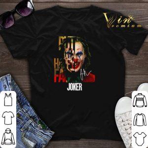 signature Joker put on a happy face shirt sweater