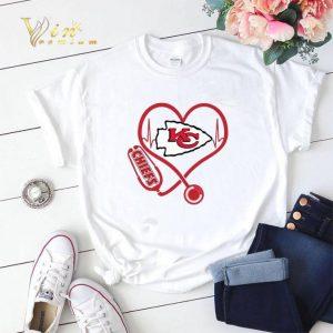 stethoscope Kansas City Chiefs shirt