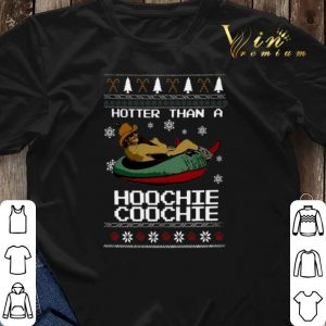 Alan Jackson Hotter than a Hoochie Coochie Christmas shirt sweater 2