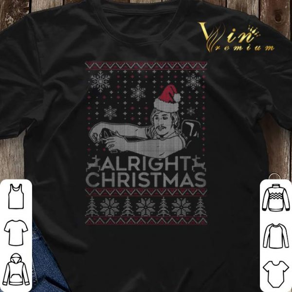 Alright Christmas shirt sweater