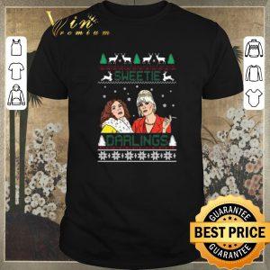 Awesome Christmas Patsy And Edina Sweetie Darling shirt