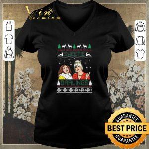 Awesome Christmas Patsy And Edina Sweetie Darling shirt 1