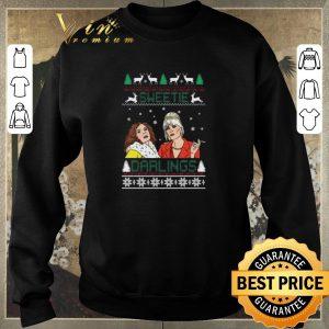 Awesome Christmas Patsy And Edina Sweetie Darling shirt 2