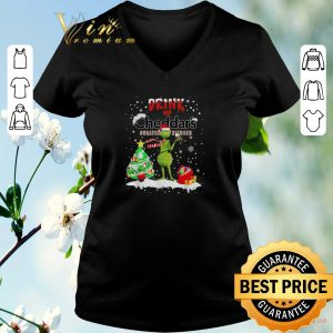 Awesome Grinch Drink Up Cheddar's Scratch Kitchen Christmas shirt sweater