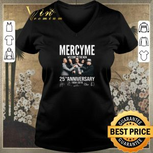 Awesome Signatures Mercyme Welcome To The New 25th Anniversary 1994-2019 shirt