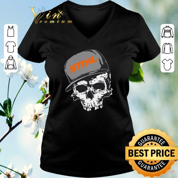 Awesome Stihl logo skull hat shirt sweater
