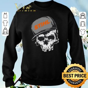 Awesome Stihl logo skull hat shirt sweater 2