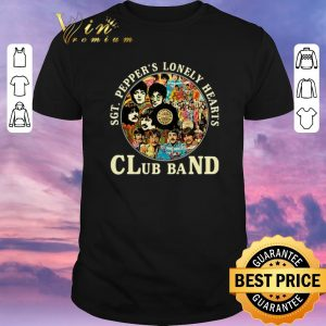 Awesome The Beatles SGT. Pepper's lonely hearts club band shirt sweater
