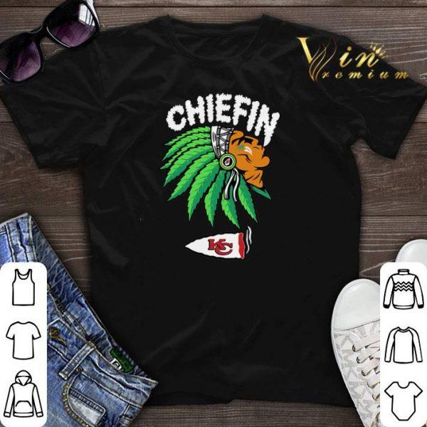 Chiefin Kansas City Chiefs Weed shirt sweater