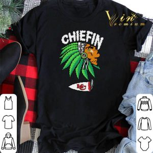Chiefin Kansas City Chiefs Weed shirt sweater