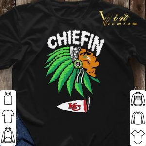 Chiefin Kansas City Chiefs Weed shirt sweater 2