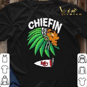 Chiefin Kansas City Chiefs Weed shirt sweater 2