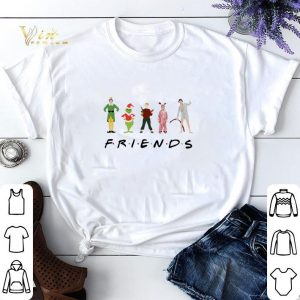 Christmas Characters Elf Grinch Kevin Friends shirt sweater