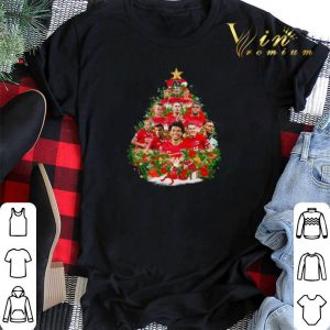 Christmas tree AZ Alkmaar team players shirt