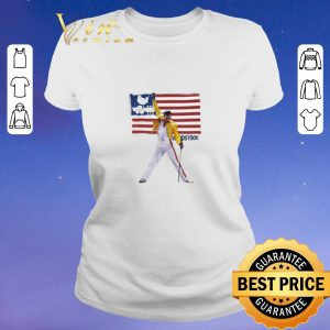 Freddie Mercury American flag Woodstock shirt sweater