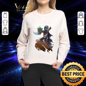 Hot Baby Yoda Mandalorian Mandalion Kawaii King shirt