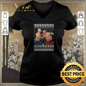 Hot Biden vs Trump Battle For The Soul Of The Nation Ugly Christmas shirt sweater
