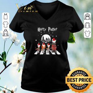 Hot Harry Potter Abbey Road Christmas shirt sweater