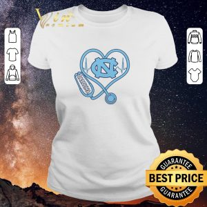 Hot Heartbeat Nurse love North Carolina Tar Heels shirt sweater