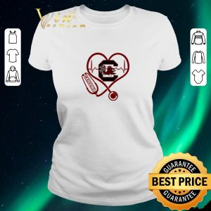 Hot Heartbeat love Carolina Gamecocks nurse shirt sweater