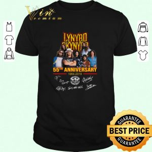 Hot Lynyrd Skynyrd 55th anniversary 1964-2019 signatures shirt sweater 2019