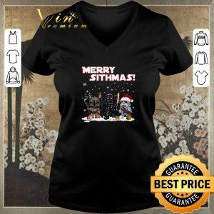Hot Merry Sithmas Boba Fett Darth Vader Stormtrooper shirt sweater