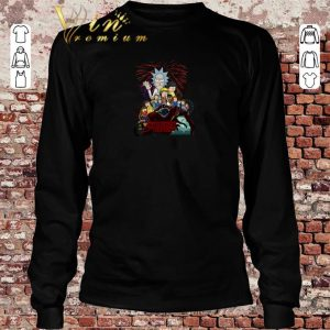 Hot Rick and Morty version Stranger Things shirt sweater 2019