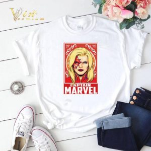 Kiss Captain Marvel Space Pose shirt sweater