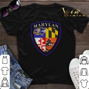 Marilan Baltimore Ravens Baltimore Orioles Shield shirt sweater