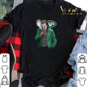 New York Jets Joker smoking Joaquin Phoenix shirt sweater 1
