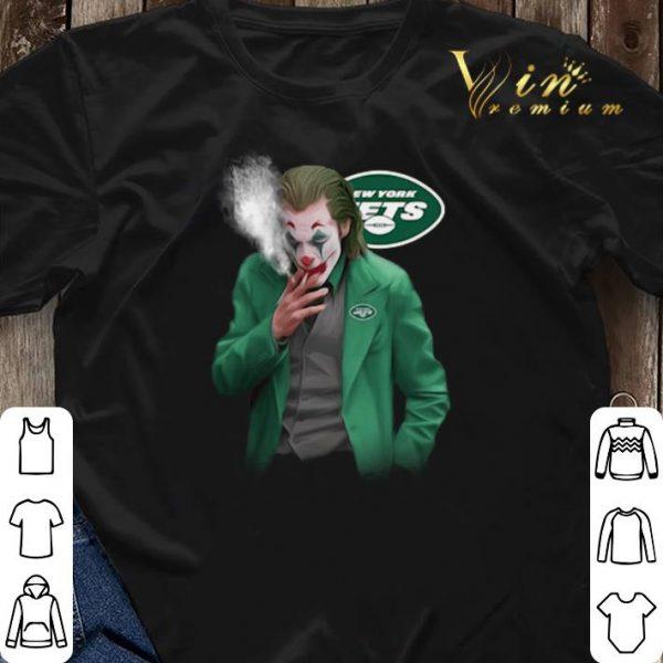 New York Jets Joker smoking Joaquin Phoenix shirt sweater