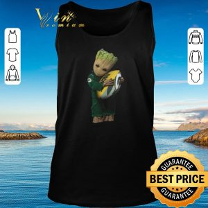 Nice Green Bay Packers Baby Groot hug rugby ball shirt 2020