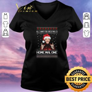 Nice Post Malone All i want for Christmas is Home Malone shirt sweater