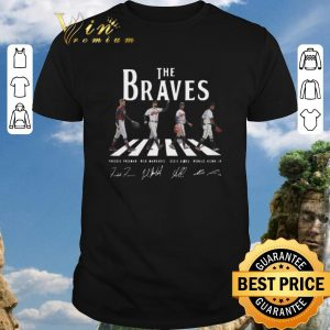 Nice Signatures Atlanta Braves The Braves Abbey Road shirt 2020