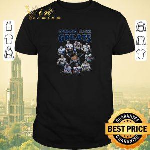 Nice Signatures Dallas Cowboys all-time greats shirt