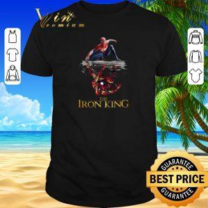 Nice Spider Man reflection Iron Man The Iron King shirt sweater 2019