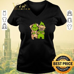 Official Baby Grinch and Pug dog shirt sweater
